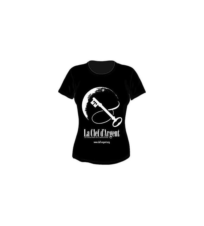 T-shirt La clef d'argent – littératures de l'imaginaire (femme)