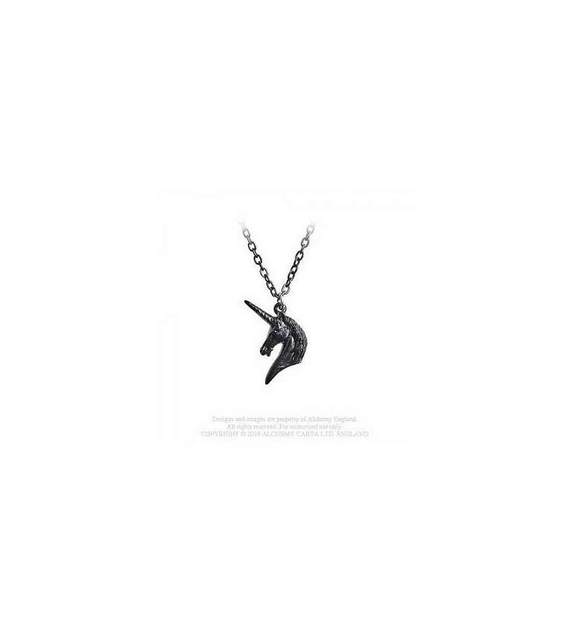 Collier unicorn (noir)