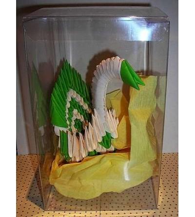 Figurine en origami 3D : Cygne