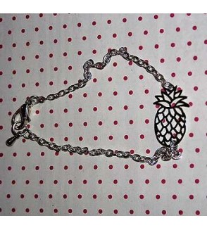 Bracelet estampe ananas