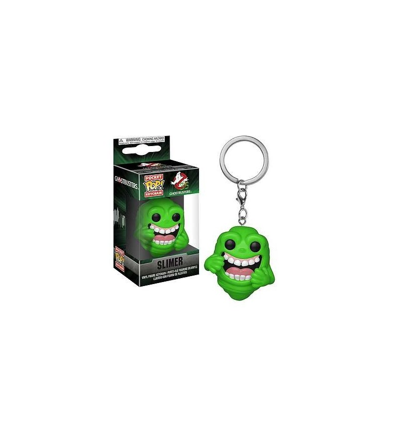 Porte-clés pocket pop! Ghostbusters : Slimer (bras repliés)