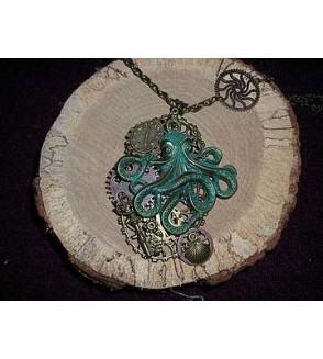 Collier pieuvre