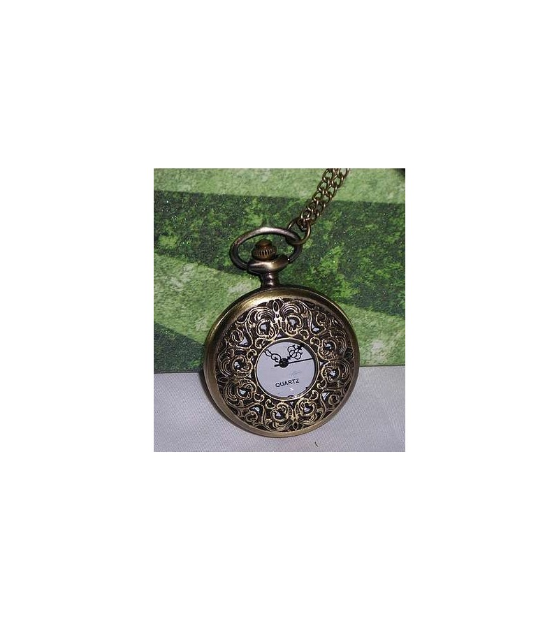 Collier-montre grand format Entrelacs