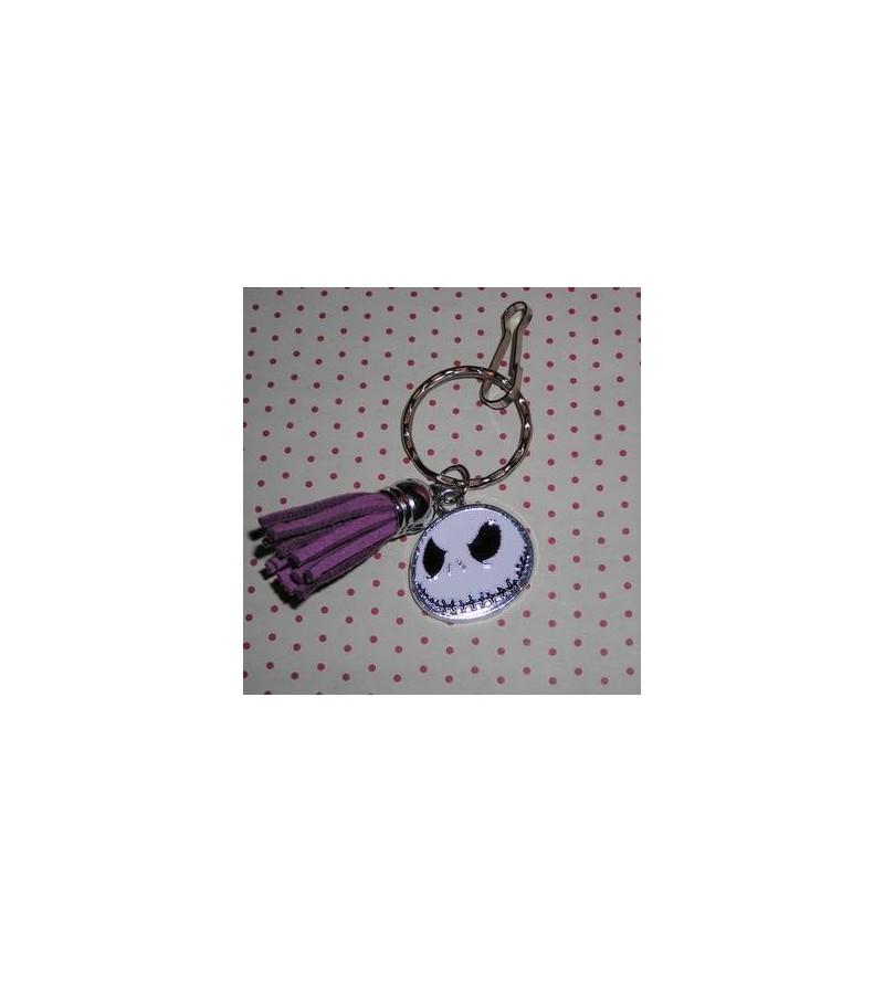 Porte-clés Jack & pompon