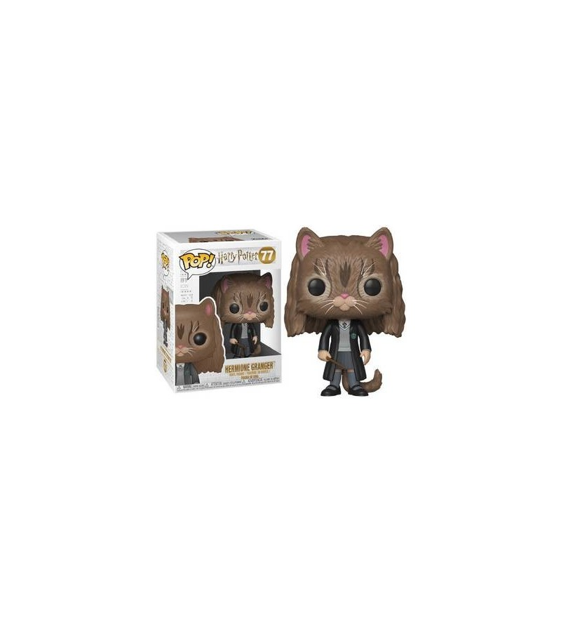 Figurine pop! Harry Potter : Hermione Granger as cat (N°77)