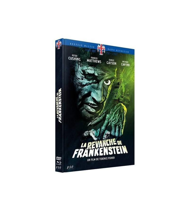La revanche de Frankenstein (Blu-ray+DVD+livret)