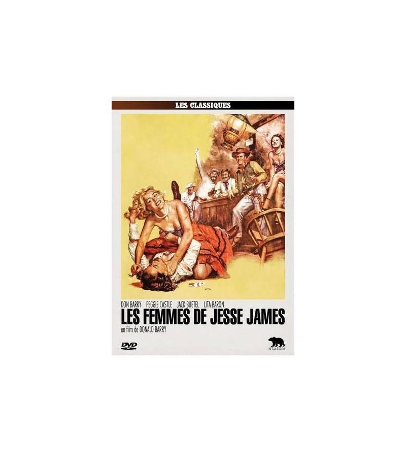 Les femmes de Jesse James (DVD)