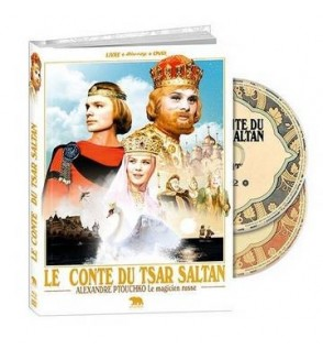Le conte du tsar Saltan (Blu-ray + DVD + livre)