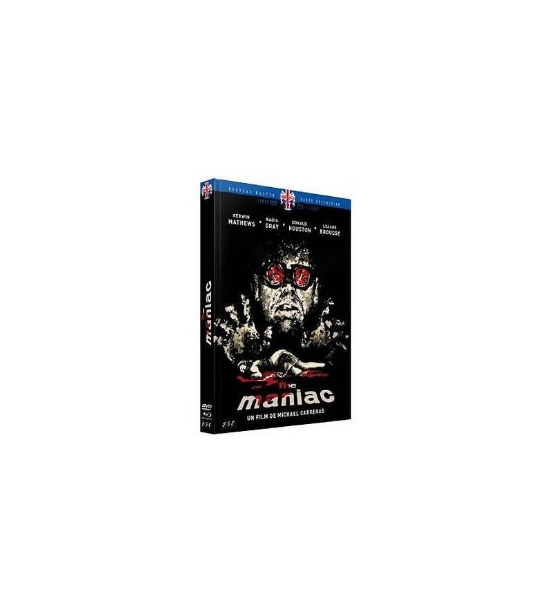 Maniac (DVD + Blu-ray + livre)