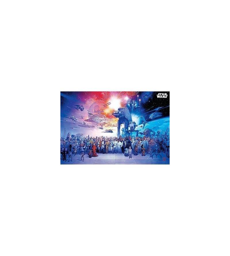 Affiche Star wars : universe