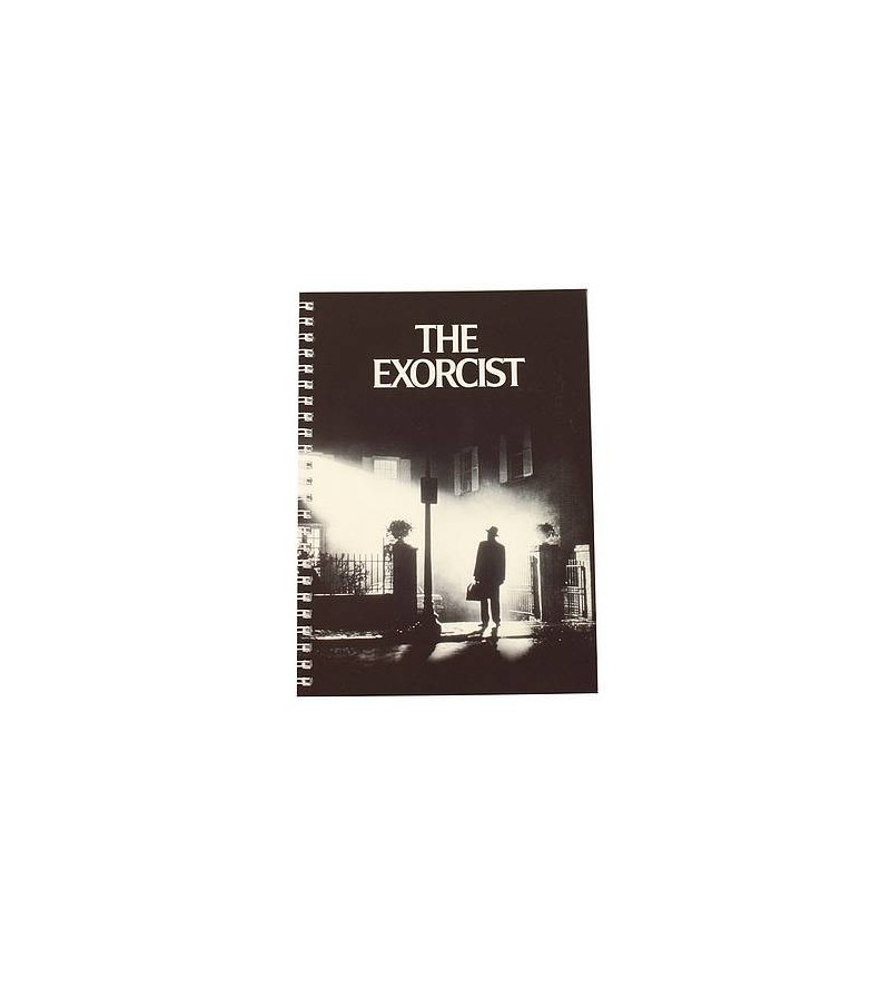 Carnet souple à spirales The exorcist