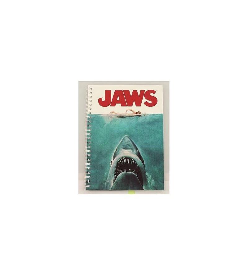 Carnet souple à spirales Jaws