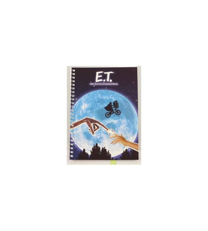 Carnet souple à spirales E.T.
