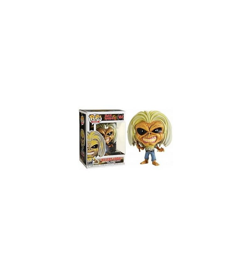 Figurine pop! Iron maiden : Killers Eddie (N°144)