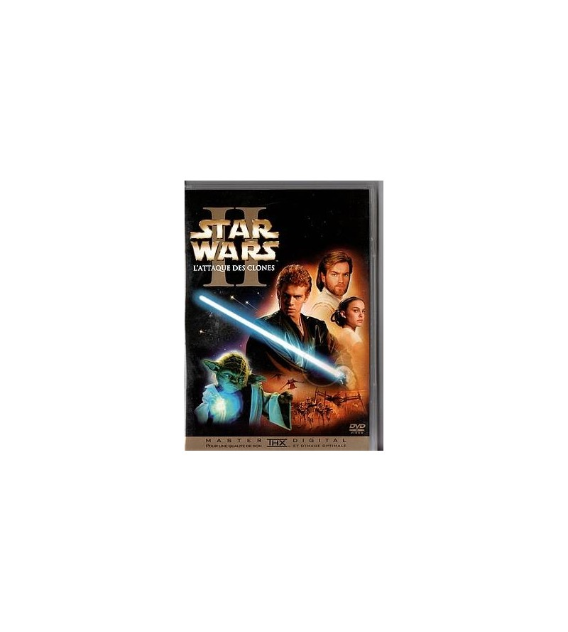 Star wars episode II : l'attaque des clones (2 DVD)