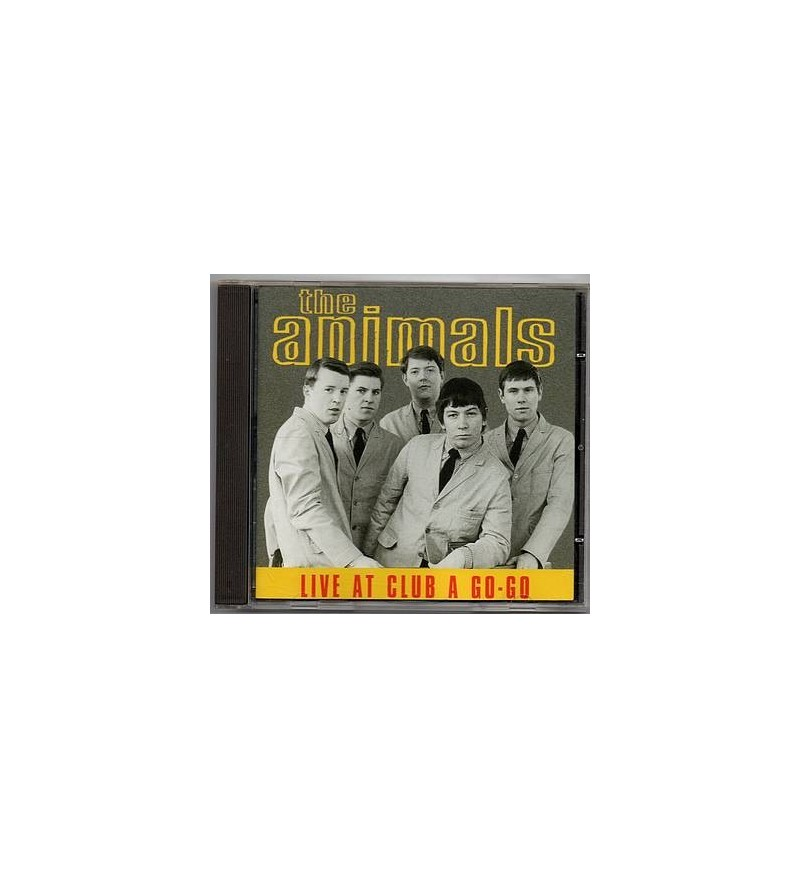 Live at club a go-go (CD)