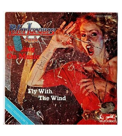 Walking on music / Fly with the wind (7'' vinyl)