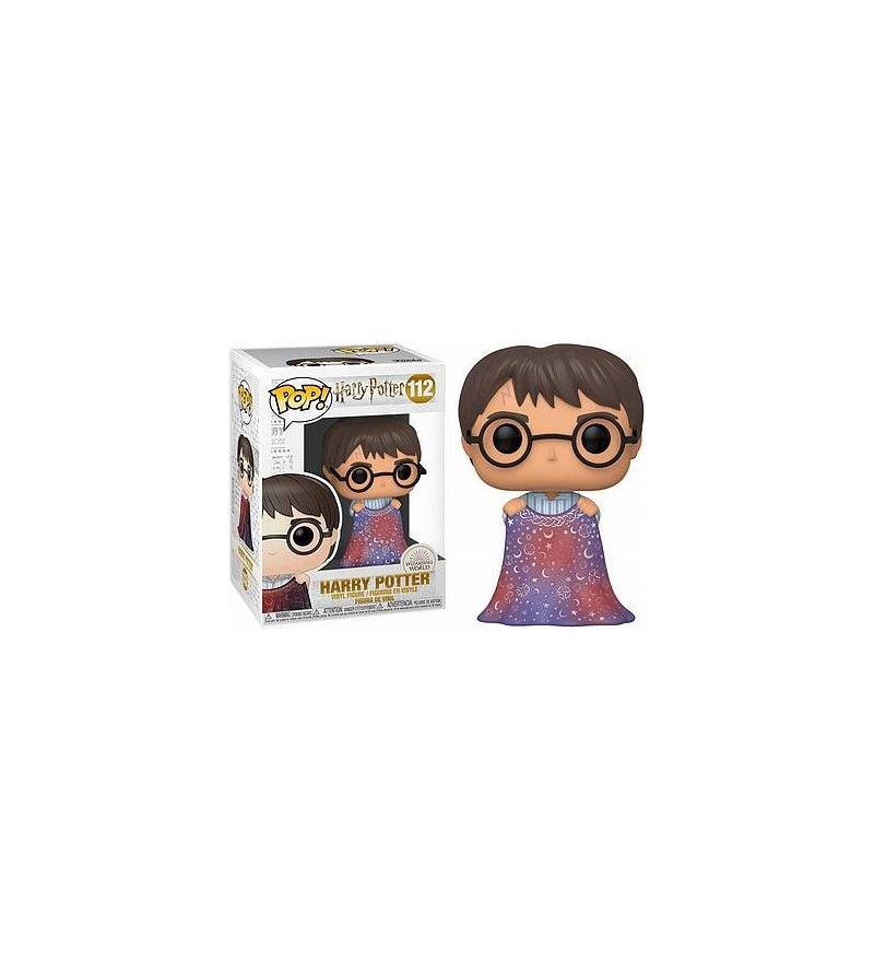 Figurine pop! Harry Potter : Harry Potter with invisibility cloak (N°112)