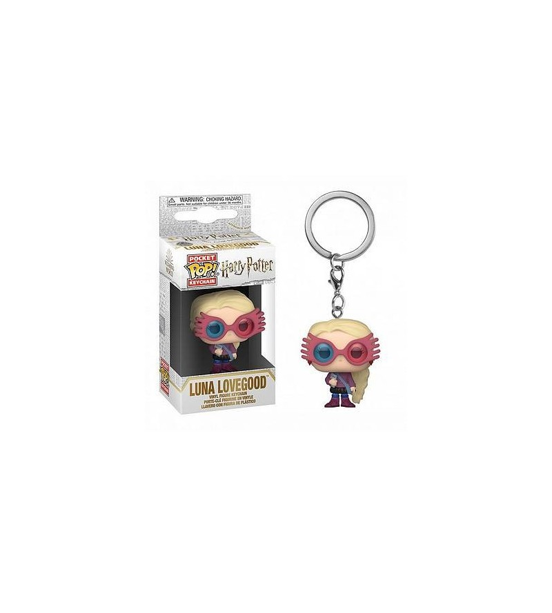 Porte-clés pocket pop! Harry Potter : Luna Lovegood