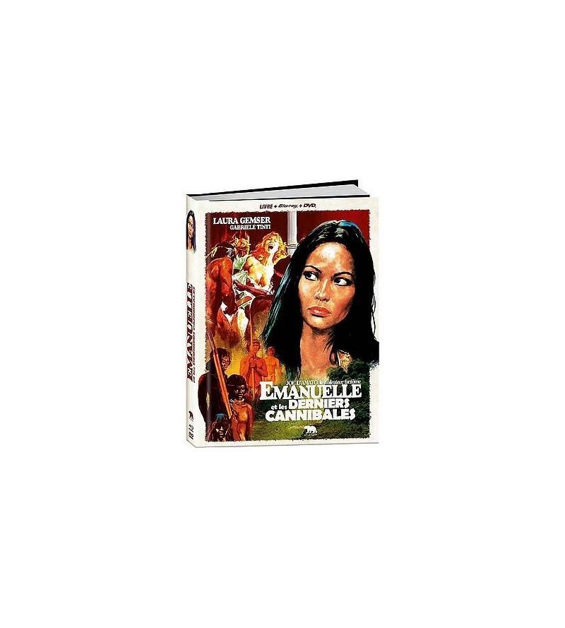 Emanuelle et les derniers cannibales (Blu-ray + DVD + livre)