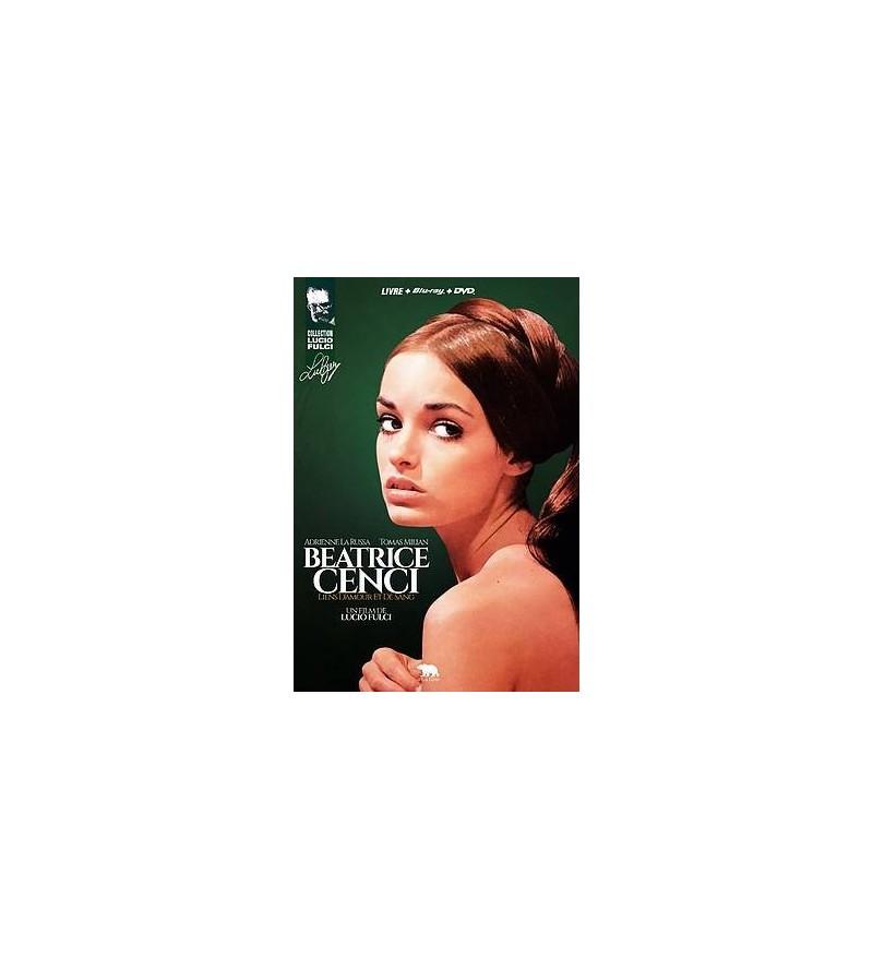 Beatrice Cenci – liens d'amour et de sang (Blu-ray + DVD + livre)