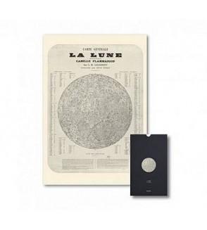 Carte La lune