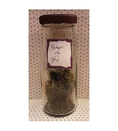 Fiole de décoration Herbes de fée