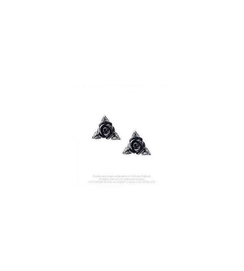 Paire de boucles d'oreilles Ring o' roses