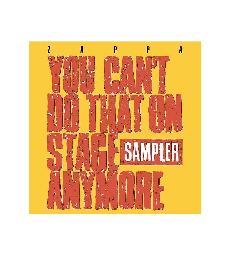 Frank Zappa : You can't do...