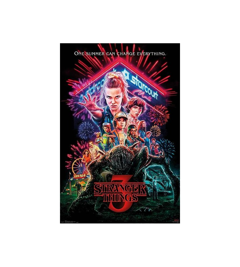 Affiche Stranger things 3 :...