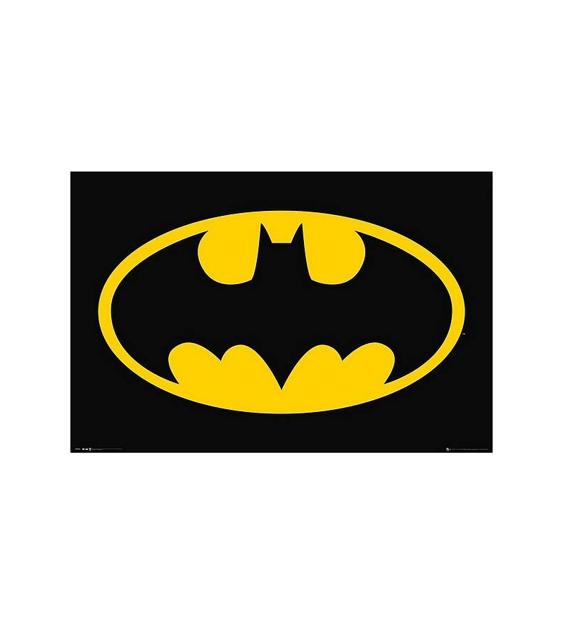 Affiche Batman : Bat symbol