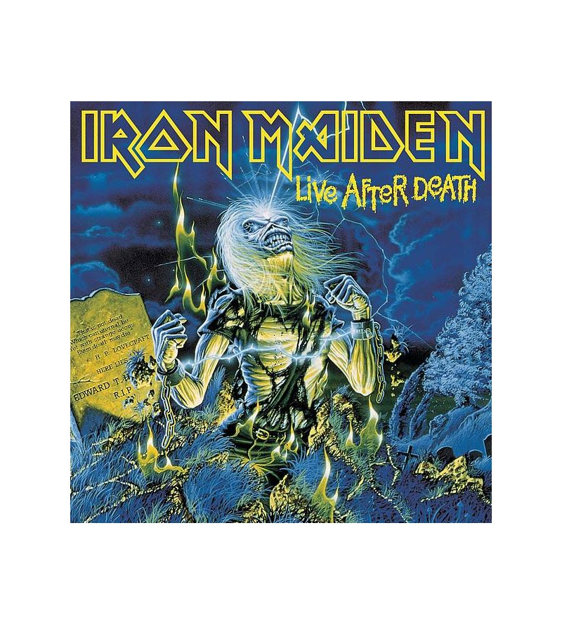 Iron maiden : Live after...