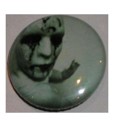 Badge Makabre factory vert