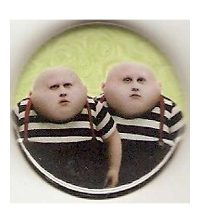 Badge Alice in wonderland : Tweedledee / Tweedledum