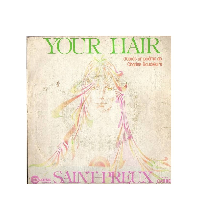 Saint-Preux: Your hair (7''...