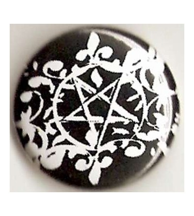 Badge Nocturnia, pentacle flore