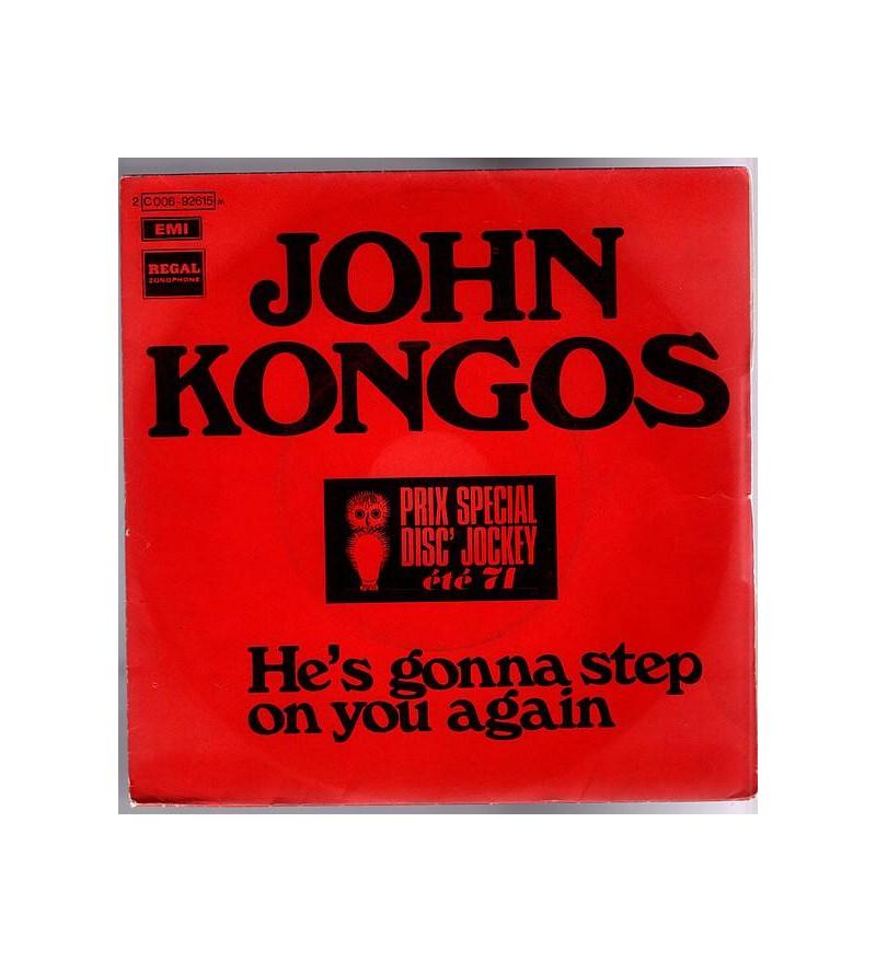 John Kongos : He's gonna...