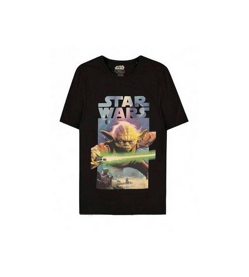 T-shirt Star wars : Yoda –...