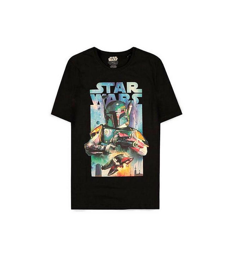 T-shirt Star wars : Bobba...