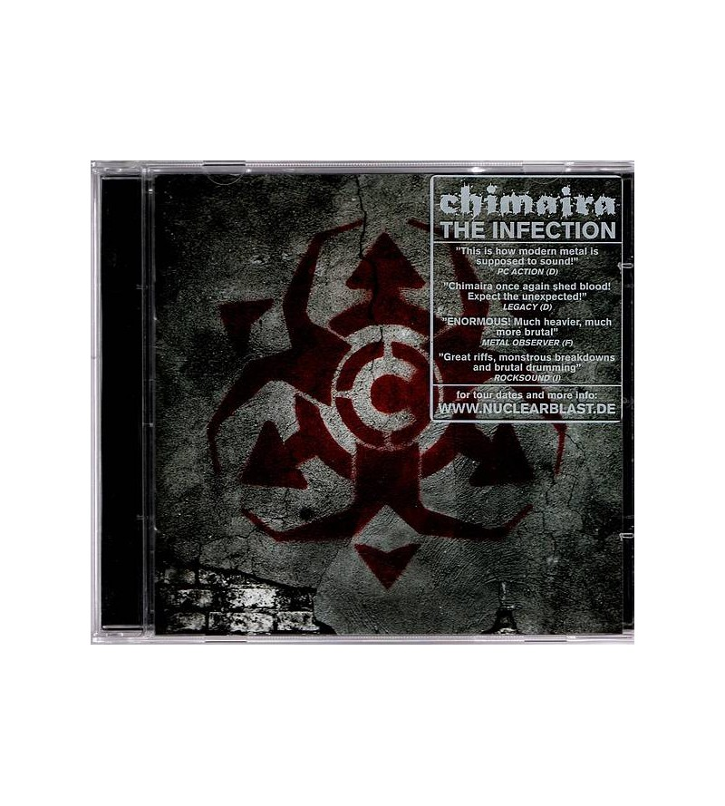 Chimaira : The infection (CD)