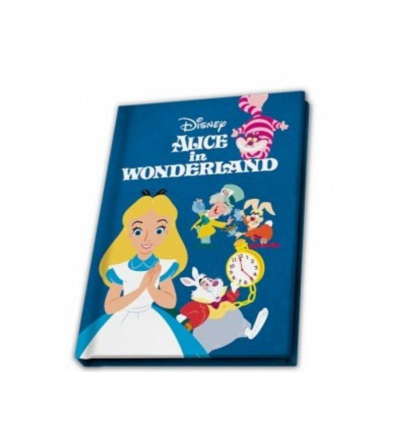 Carnet Alice in Wonderland...