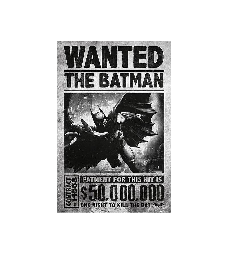 Affiche DC comics Batman...