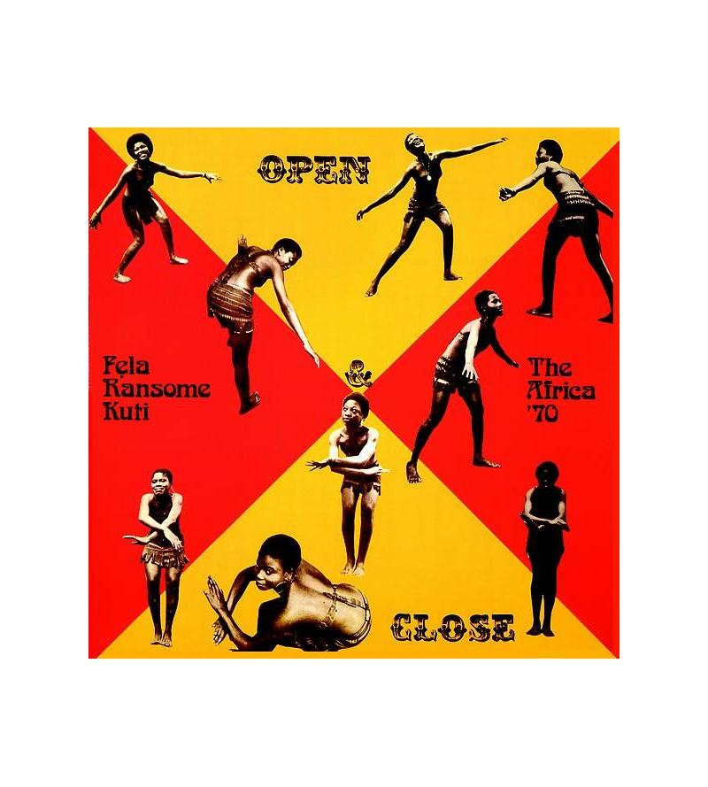 Fela Kuti : Open & close...