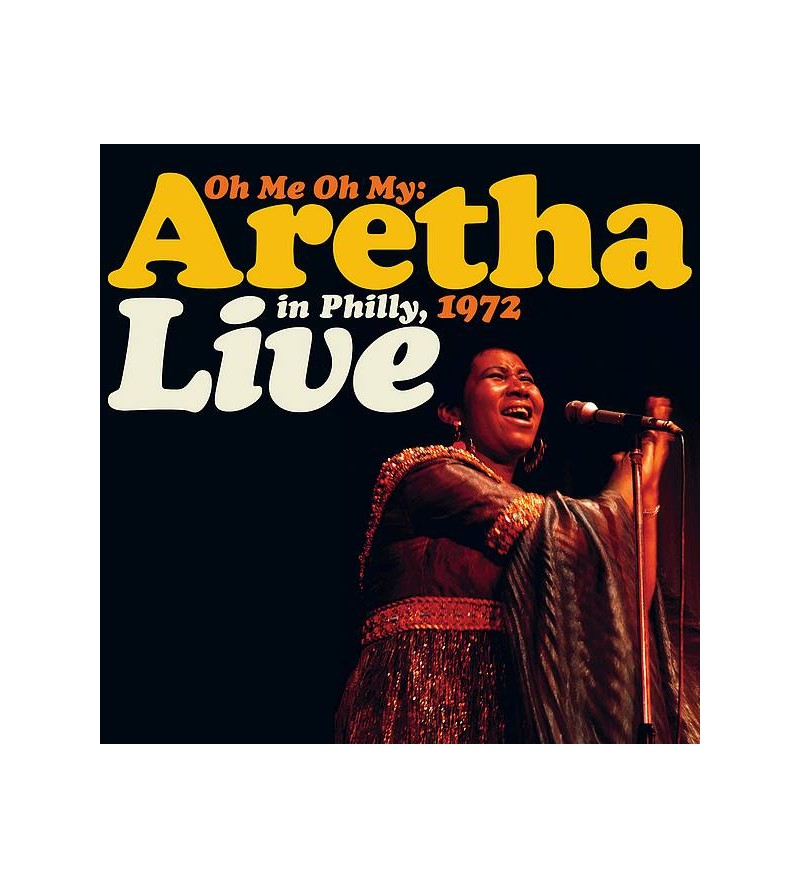 Aretha Franklin : Oh me, oh...