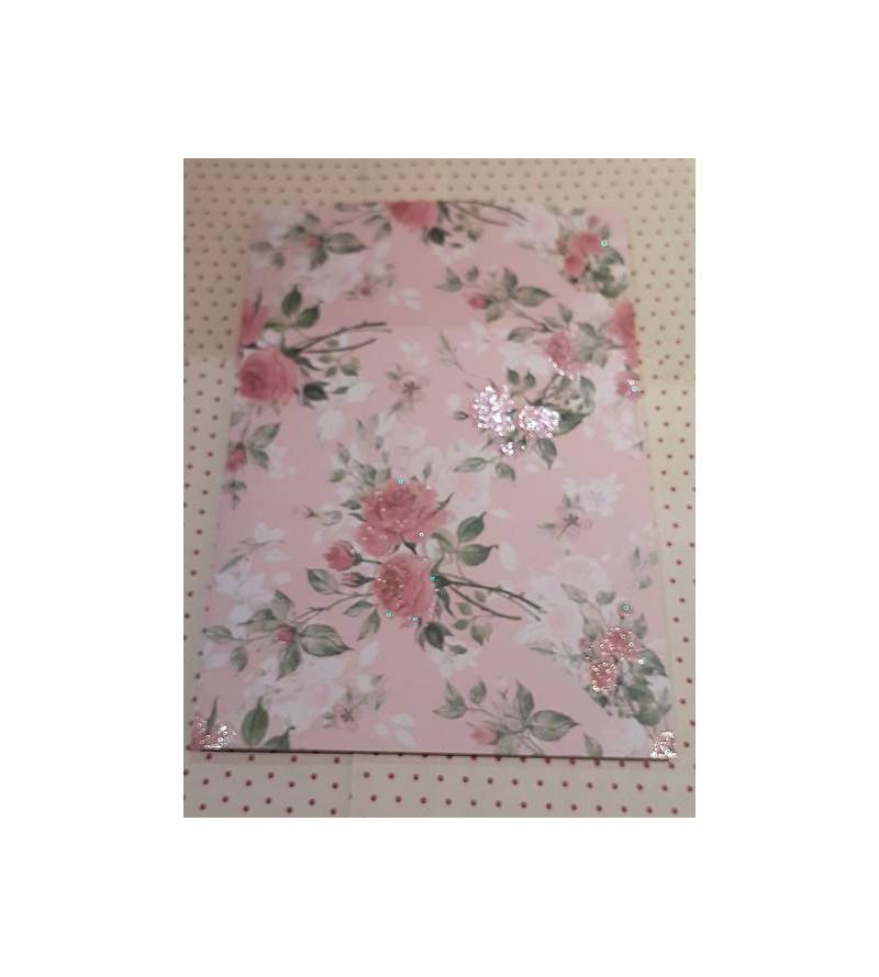 Carte postale pop-up Fleurs...