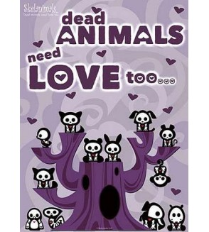 Skelanimals - Dead animals need love too