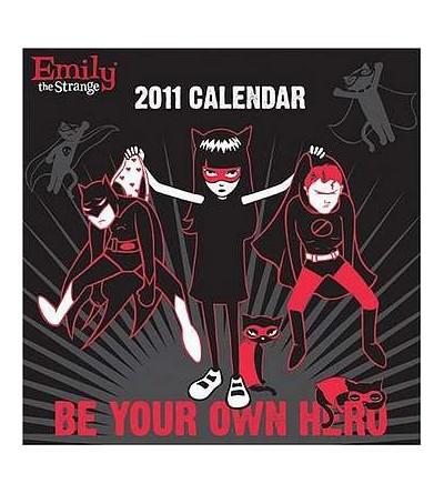 Emily the strange 2011 calendar