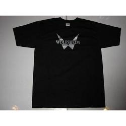 T-shirt Wolfsheim, Logo, taille L