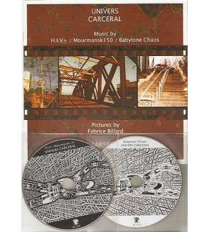 Univers carcéral (Ltd edition 2CDs + book)