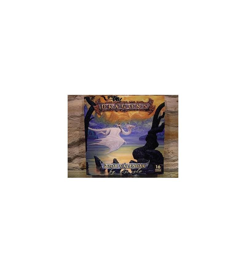 Calendrier 2008 Ciruelo - Dragons